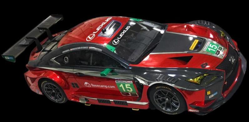 15 Red Lexus Rc F Gt3 Speed Sport