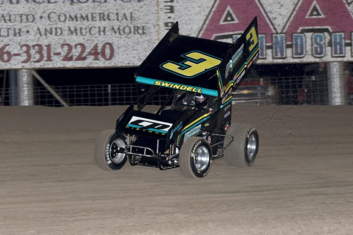 sammy swindell sizzles at route 66 speed sport. Black Bedroom Furniture Sets. Home Design Ideas