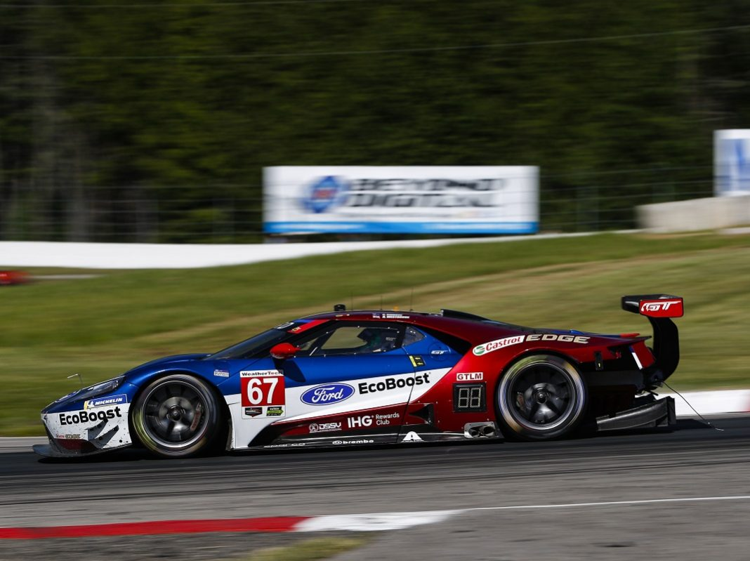 Timely Pit Stop Hands Ford Gt A Victory In Canada
