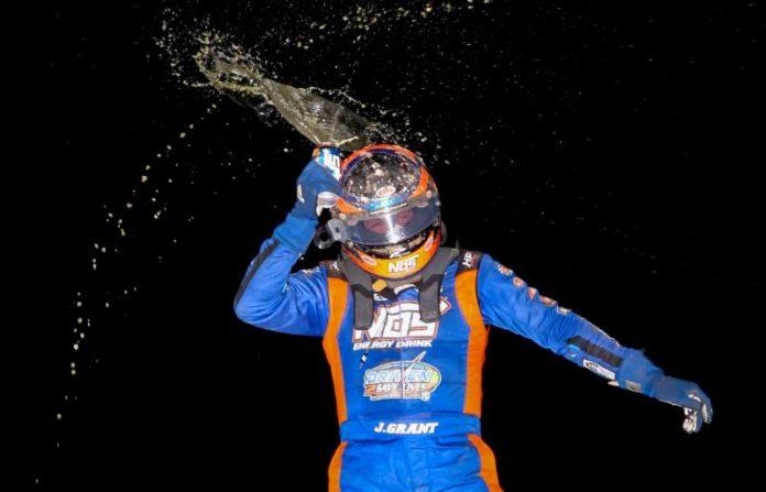4cb986b53b7 Justin Grant Is Midwest Midget Champion | SPEED SPORT