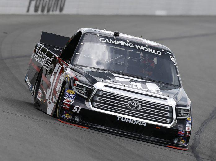 Textron & Kyle Busch Set For Five Truck Races | SPEED SPORT