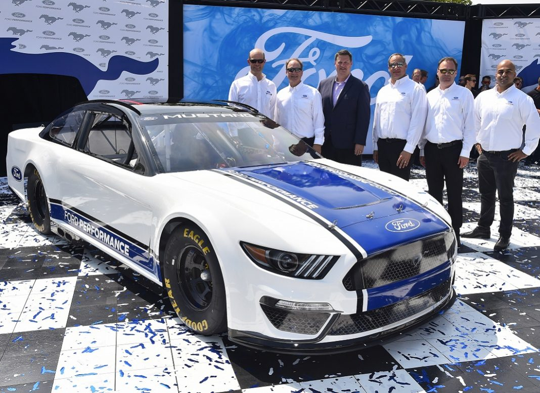 Ford Reveals 2019 Nascar Cup Series Mustang Speed Sport