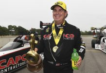 Billy Torrence picked up the Top Fuel victory last year at Brainerd Int'l Raceway. (NHRA Photo)
