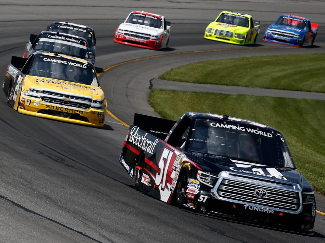 nascar camping world truck series drivers 2018