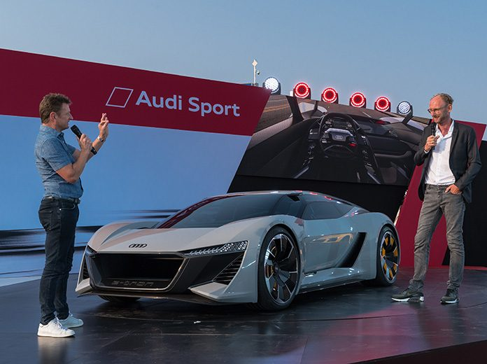 Audi Debuts PB Etron During Monterey Reunion SPEED SPORT - Monterey audi