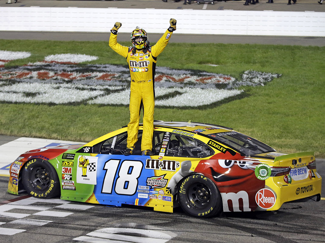 From worst to first for kyle busch in richmond speed sport - Pictures of kyle busch s car ...