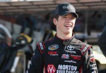 Burton ARCA NASCAR