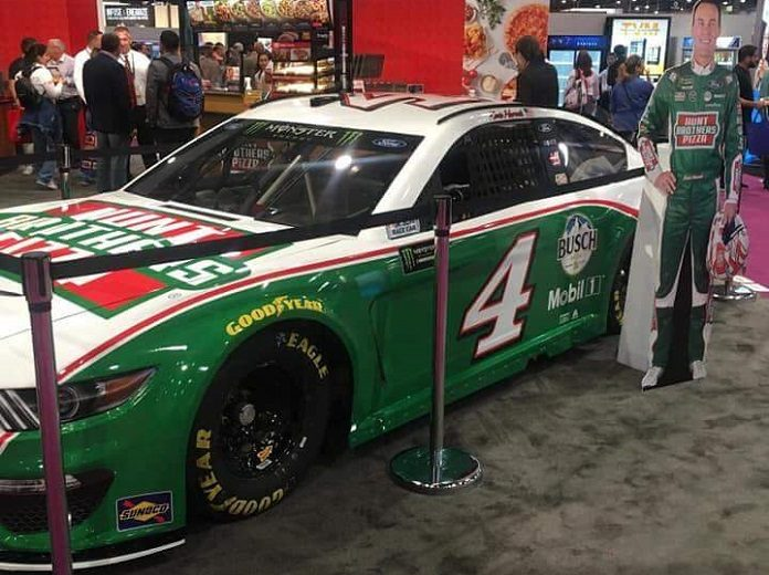 Hunt Brothers Pizza To Sponsor Harvick S Cup Car Speed Sport