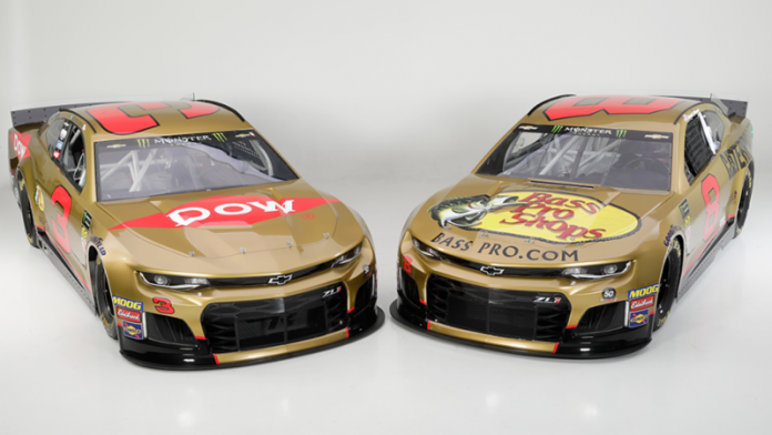 Gold Cars For Rcr S 50th Anniversary Speed Sport