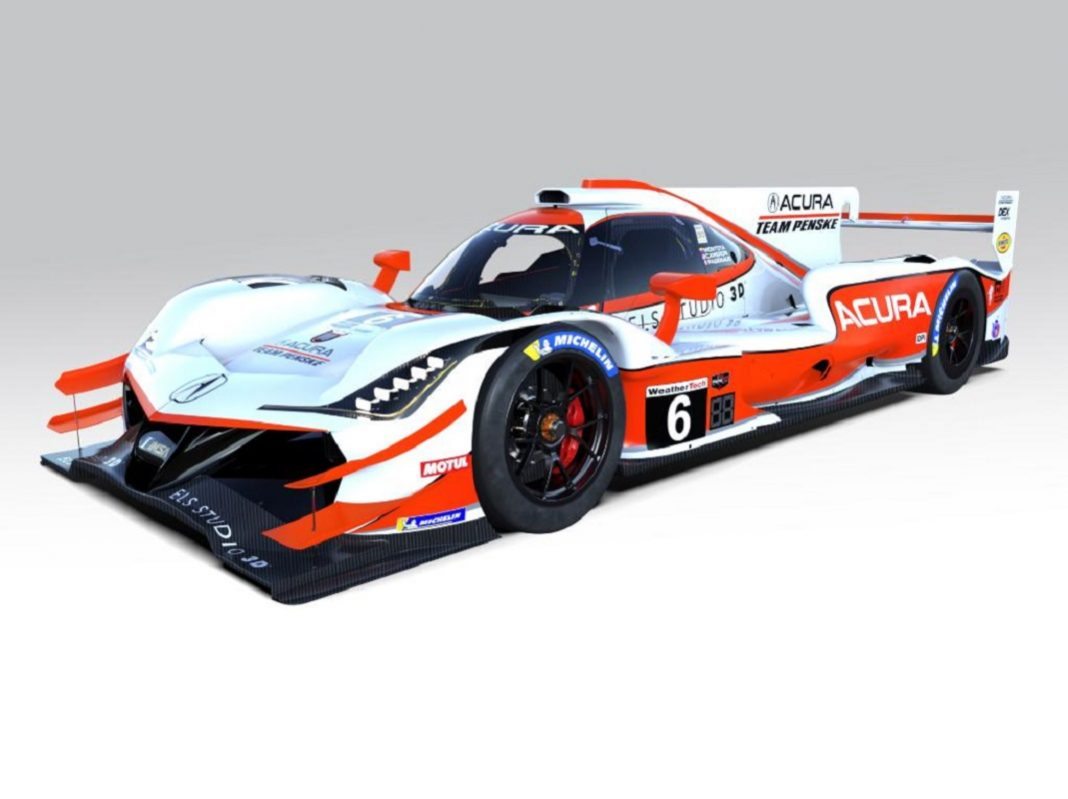 Acura Team Penske Throwing Back To Comptech Speed Sport