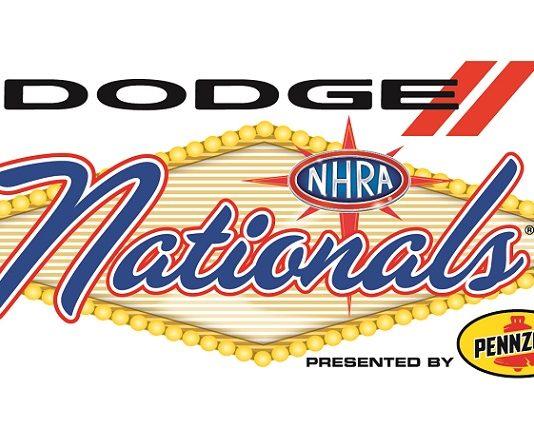 Dodge NHRA Vegas 2 Logo