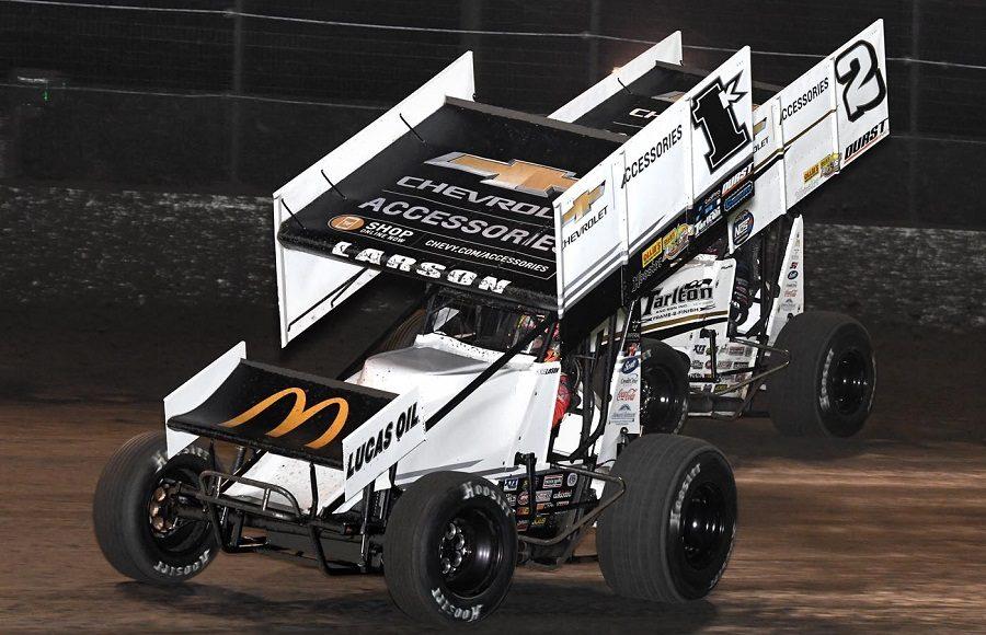 Kyle Larson Racing Lucas Oil