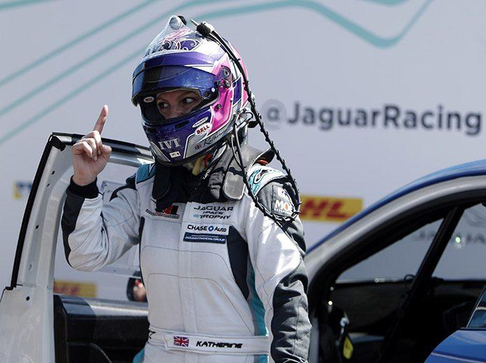 Legge Stars In Mexico City Jaguar ETROPHY Race