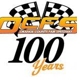 Orange County Far Speedway Logo 100th Anniversary
