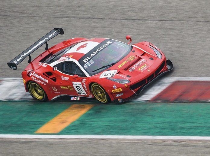 Ferrari Mercedes Blancpain GT World Challenge