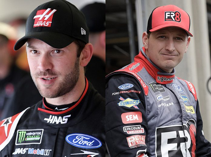 Suarez, McDowell called to NASCAR hauler after fight | AP sports