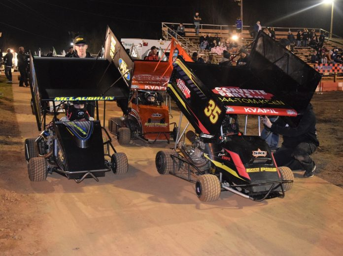 Next-Generation Stars Return To Outlaw Kart Roots | SPEED SPORT