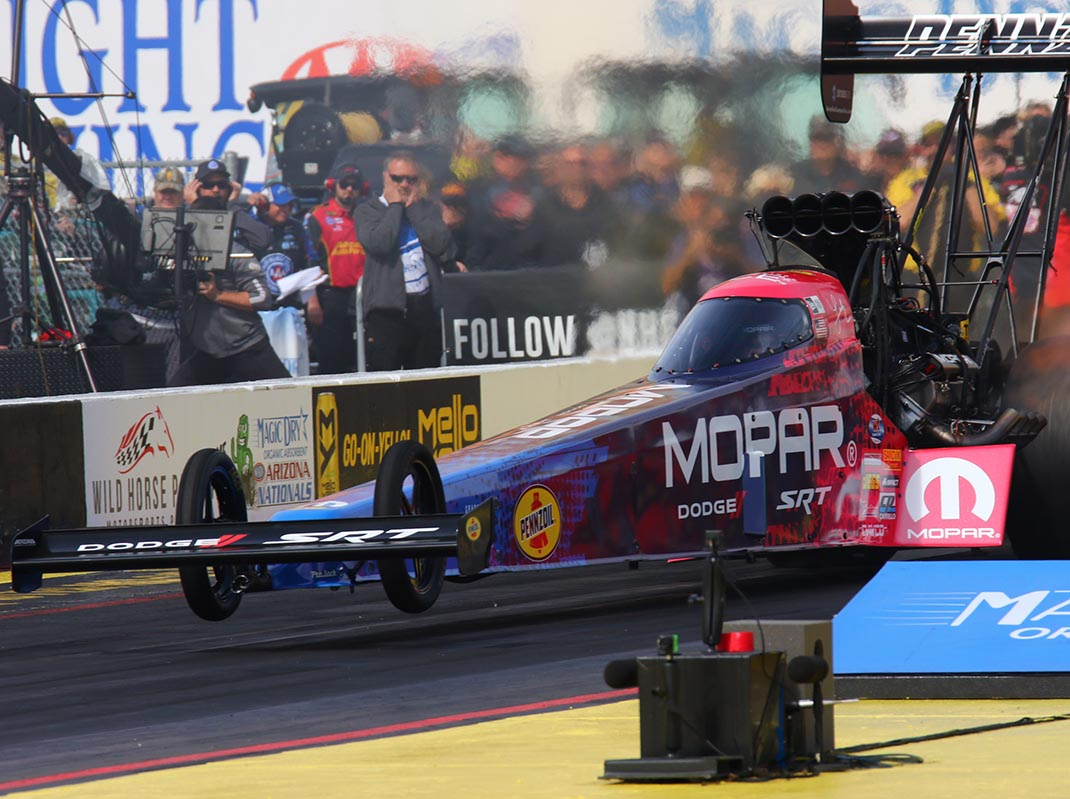 Leah Pritchett is extra motivated heading into the NHRA's Western Swing. (Ivan Veldhuizen Photo)