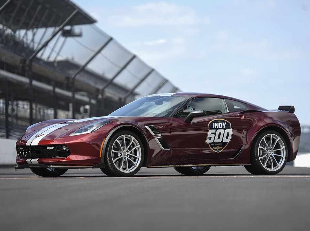 2019 Indy 500 Pace Car: 2019 Corvette Grand Sport To Pace Indy 500