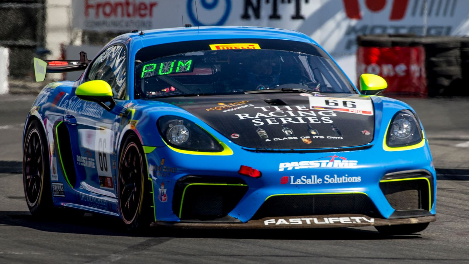 Porsche Long Beach >> Pumpelly Puts Trg Porsche On Gt4 Long Beach Pole