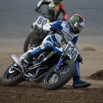 Kolby Carlile will miss this weekend's American Flat Track event because of a leg injury.