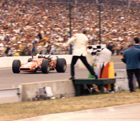 Mario Andretti wins 1969 Indianapolis 500