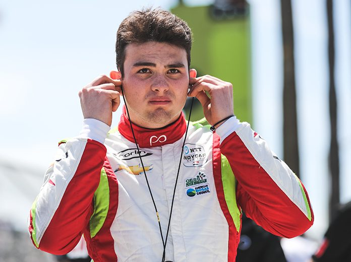 Pato O'Ward has joined the Red Bull Junior Team. (IndyCar Photo)