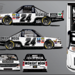 Brett Moffitt will have sponsorship from Midnight Moon Moonshine at Charlotte Motor Speedway.