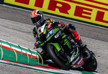Jonathan Rea paced Friday's World Superbike practice sessions in Italy. (WorldSBK Photo)