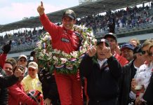 Helio Castroneves Indy 500 Winner