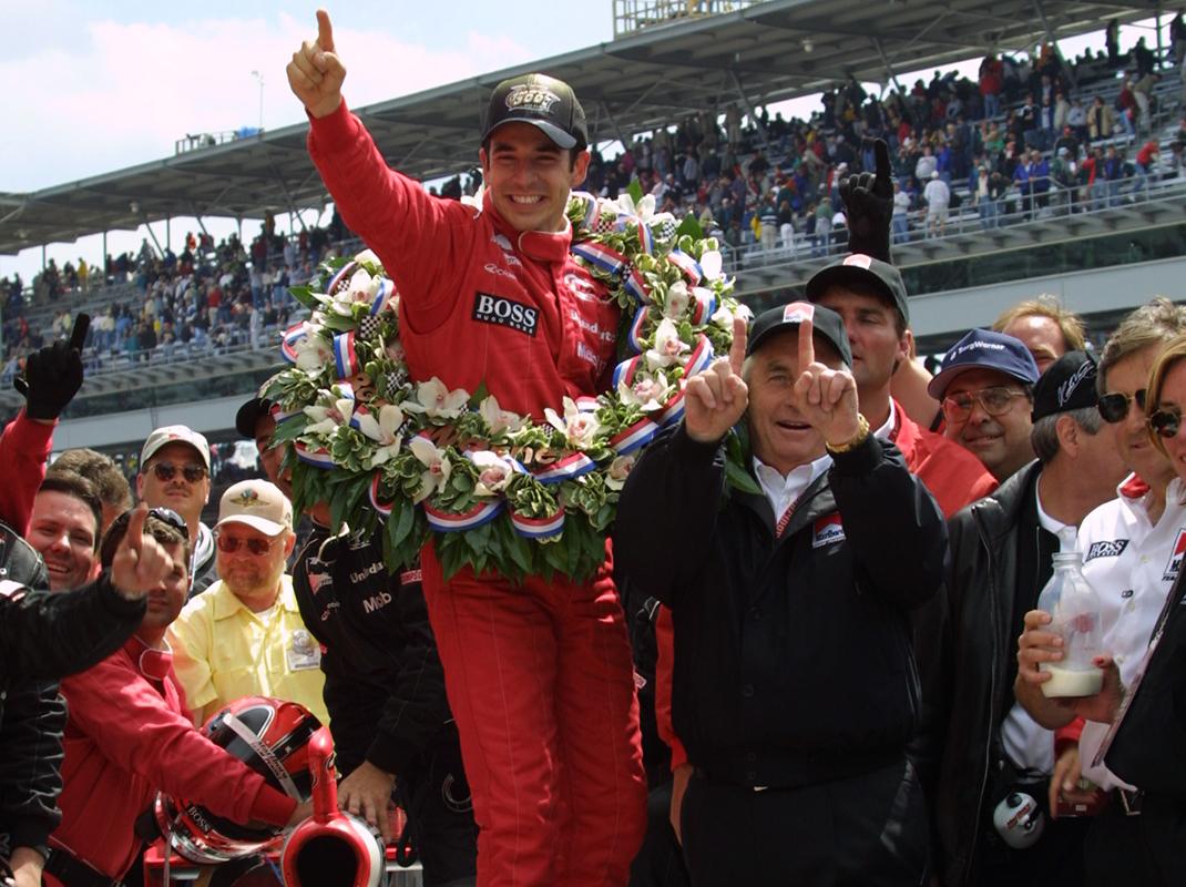 Helio Castroneves Indy 500 Winner