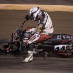 Brandon Robinson en route to victory Saturday during the So-Cal Half-Mile. (Scott Hunter/AFT Photo)