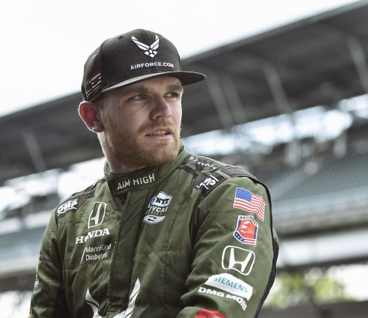 Conor Daly is ready to go racing at Indianapolis Motor Speedway. (IndyCar Photo)