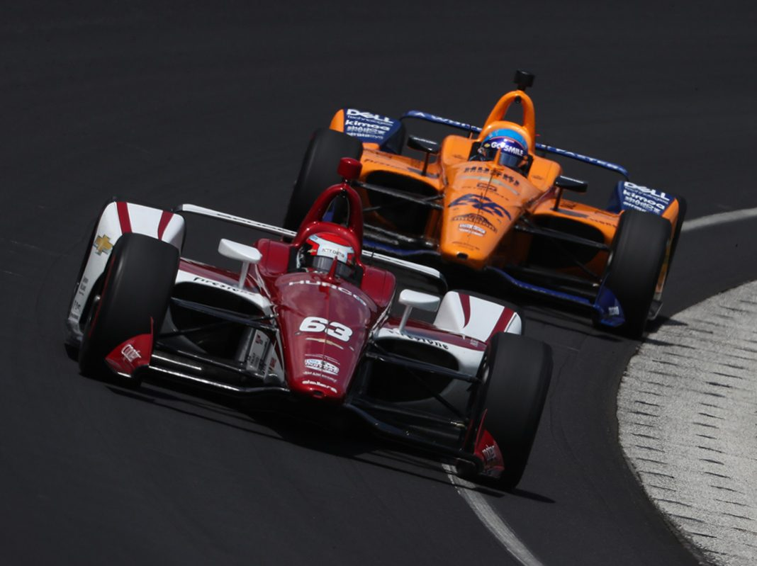 Practice has begun for the 103rd running of the Indianapolis 500. (IndyCar Photo)