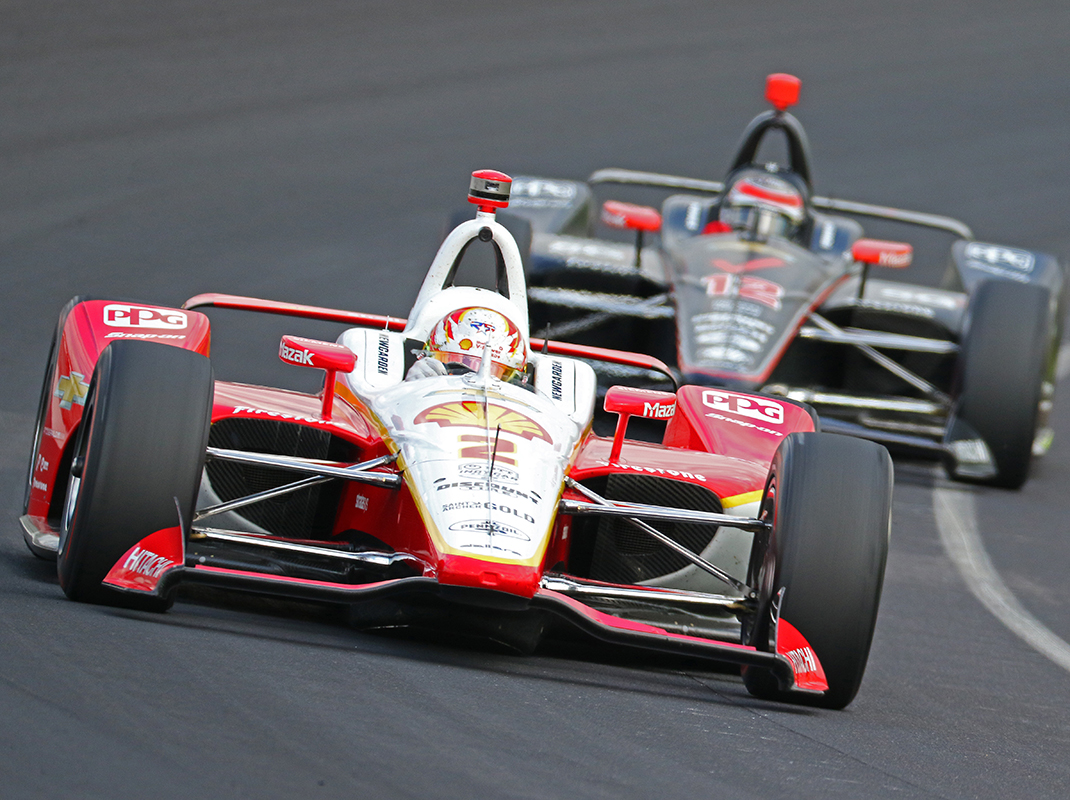Josef Newgarden was fastest on day two of Indianapolis 500 practice on Wednesday. (IndyCar Photo)