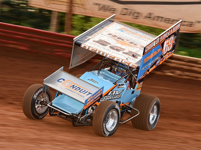 Lance Dewease remains the leader of the Priority Aviation $20,000 Sponsorship program. (Paul Arch Photo)