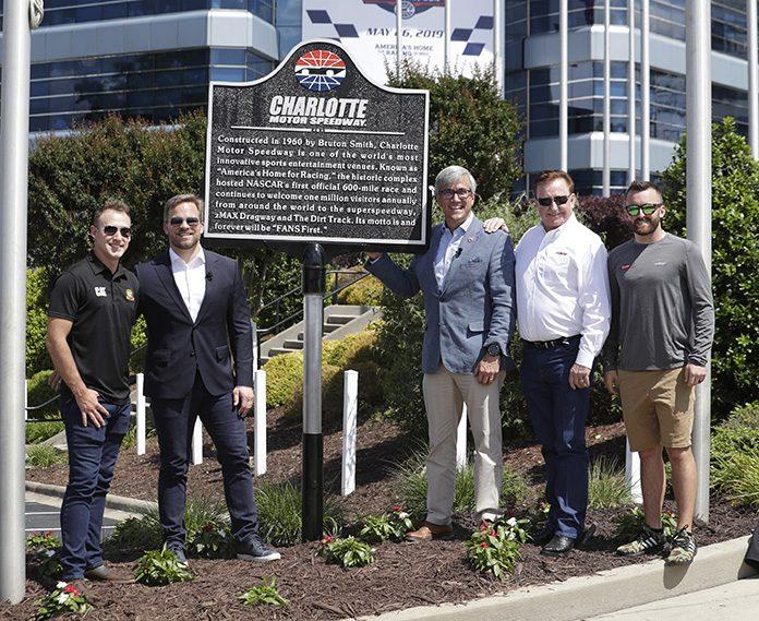 Charlotte Motor Speedway Unveils Historical Marker | SPEED SPORT
