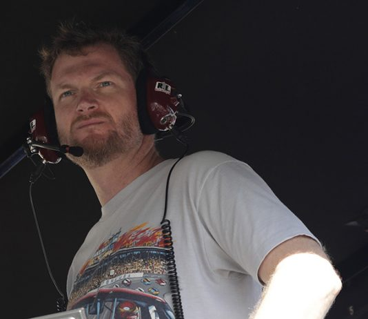 Dale Earnhardt Jr. will lead the field to the green flag during the 103rd Indianapolis 500. (HHP/Harold Hinson Photo)