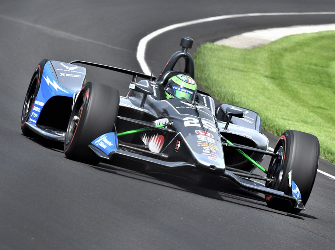 Conor Daly was the fastest man in town on Friday at Indianapolis Motor Speedway. (Al Steinberg Photo)