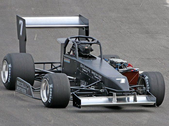 Otto Sitterly was fastest during open practice Saturday at Oswego Speedway. (Bob Clark Photo)