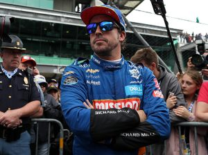 Fernando Alonso failed to qualify for the 103rd Indianapolis 500. (IndyCar Photo)