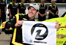Simon Pagenaud claimed the pole for the 103rd Indianapolis 500. (Al Steinberg Photo)