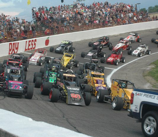 The field for the 2018 Little 500.