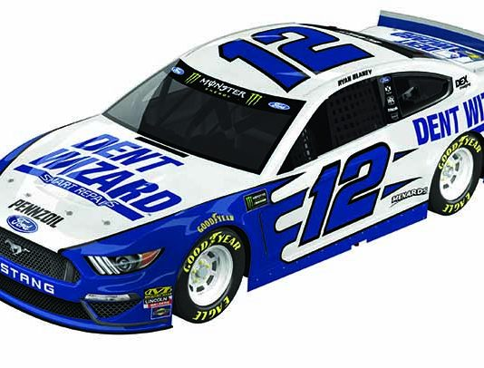 Dent Wizard will sponsor Ryan Blaney in two Monster Energy NASCAR Cup Series events this year.