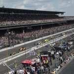 The start of the 100th Indianapolis 500 in 2016. (IMS Archives Photo)