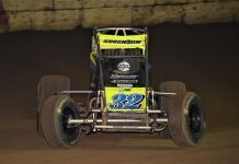 Chase Stockon won the Tony Hulman Classic Wednesday night at the Terre Haute (Ind.) Action Track. (Al Steinberg photo)