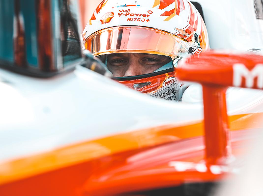 Josef Newgarden will pursue his first Indy 500 triumph Sunday with Team Penske. (IndyCar Photo)