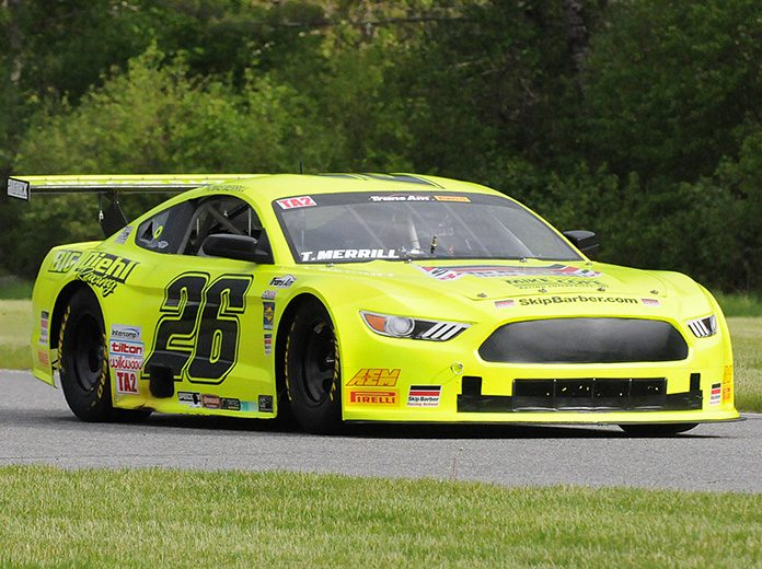 Thomas Merrill won the pole for the Trans-Am Series TA2 event at Lime Rock Park. (Dave Moulthrop Photo)
