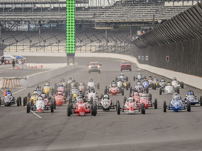 The SCCA National Championship Runoffs will return to Indianapolis Motor Speedway in 2021. (IMS Photo)