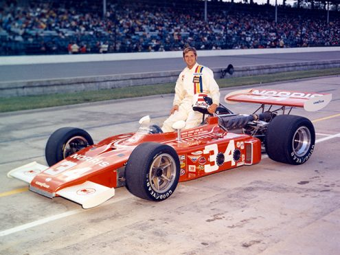 Sam Posey made his only Indianapolis 500 start in 1972. (IMS Archives Photo)